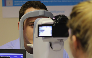 What is diabetic eye screening?